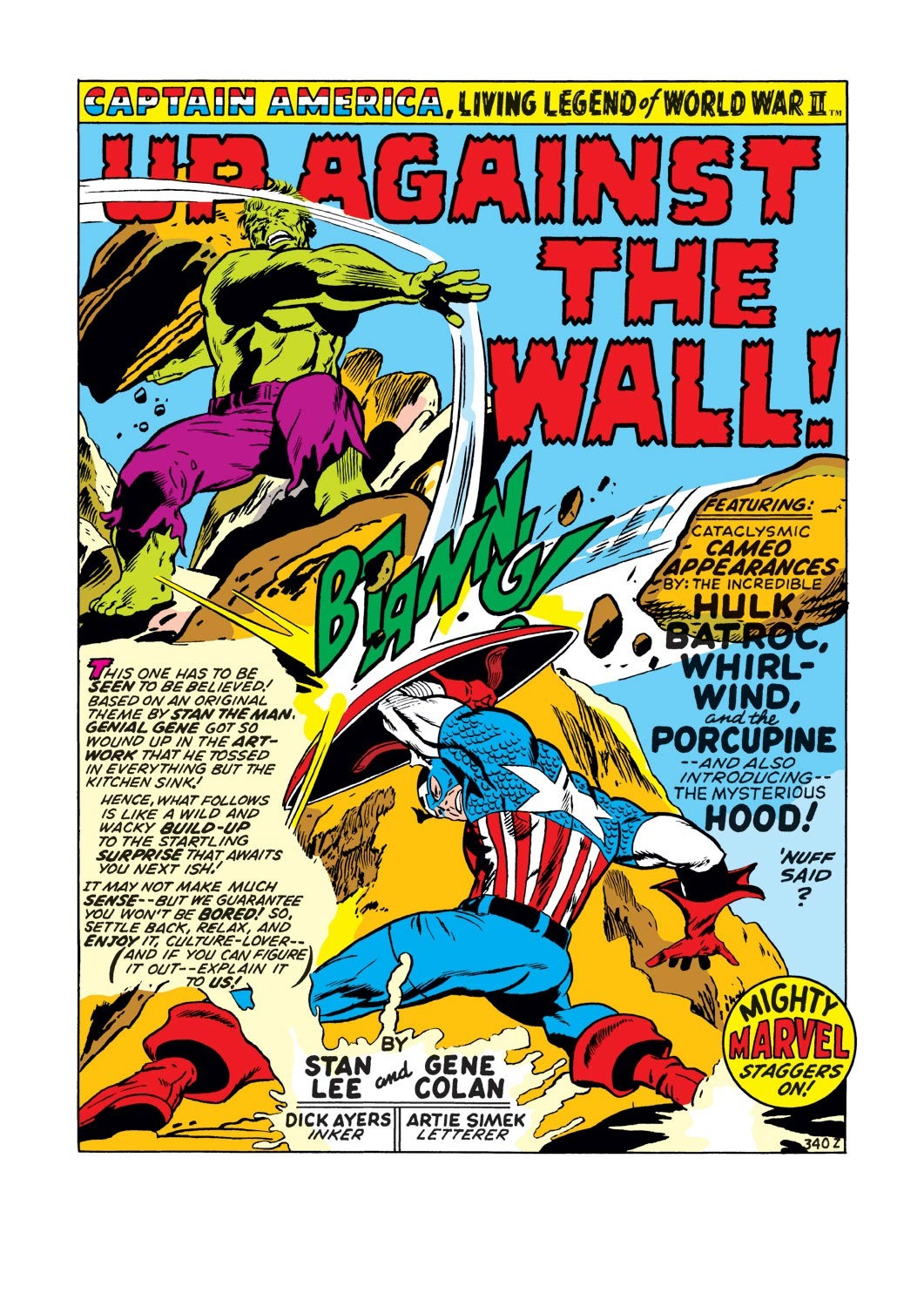 Captain America (1968) Issue #130 #44 - English 2