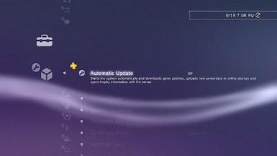 PS3 4.10 Update