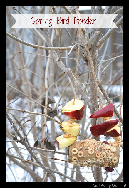 bird+feeder+title Craft Ideas for Kids: Spring Bird Feeder