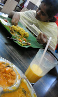 Visiting Singapore, I love having lunch in Little India