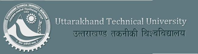 Uttarakhand Technical University Revised New Exam Timetable Schdeule 2013
