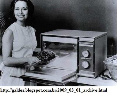 Invenção do microondas