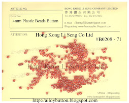 Plastic Beads Button Supplier - Hong Kong Li Seng Co Ltd