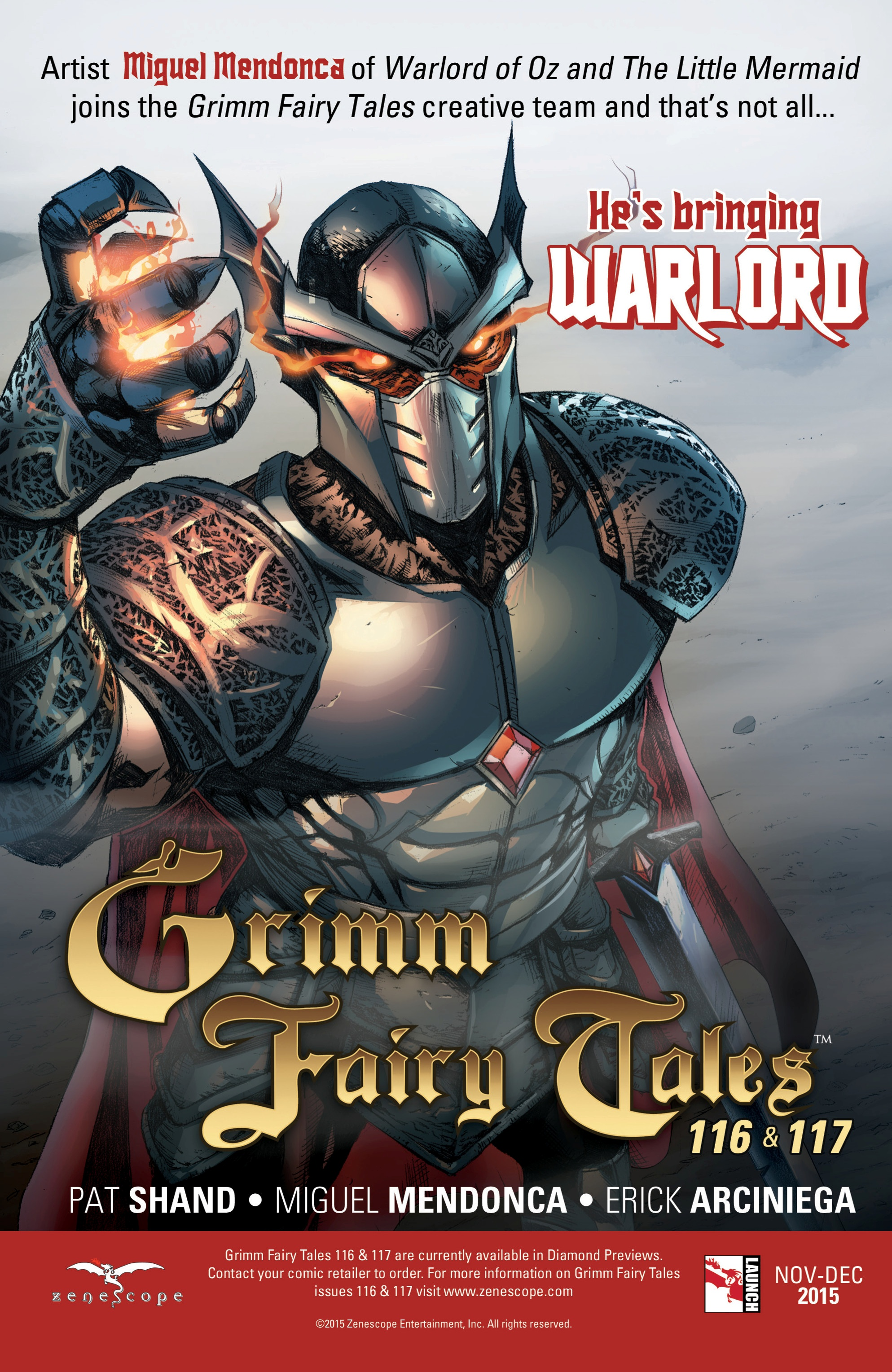 Grimm Fairy Tales (2005) Issue #115 #118 - English 25