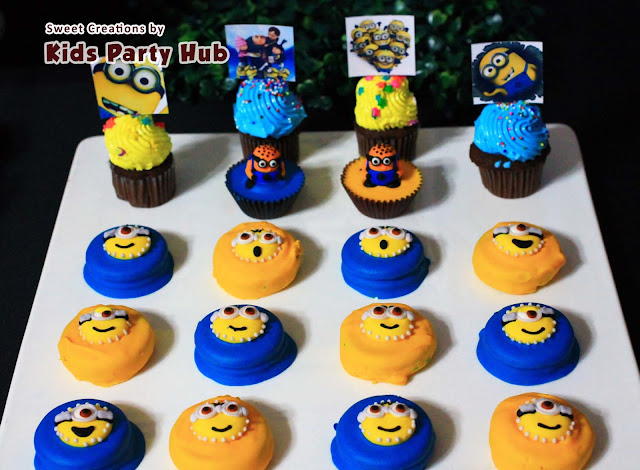 Despicable Me Minions Dessert Table