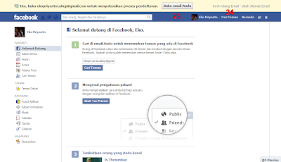 Cara Membuat Akun Facebook (Account FB)