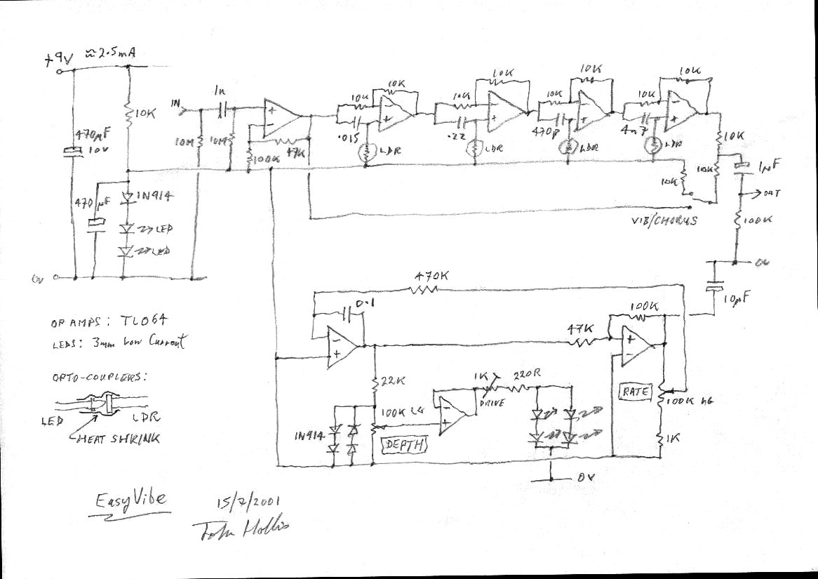 Univibe Clone Schematic Wire Center Voice Activated Switch Adormicom Cloning The Uni Vibe Neovibe Easy Phase 45 La R Volution Rh Revolutiondeux Blogspot Com