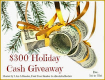 Enter the $300 Holiday PayPal Cash Giveaway YOU could WIN! Click on the photo to enter! To 12-21!