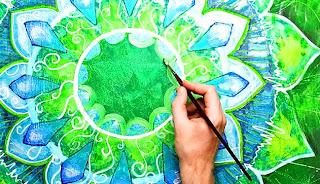 Что такое Мандала, Как рисовать Мандалу, Инструкция по рисованию Мандалы