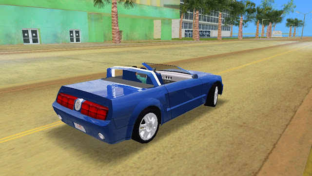 Ford Mustang GT Concept Convertible 2005 GTA Vice City