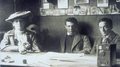 Picasso met Fernande Olivier en Ramón Reventós