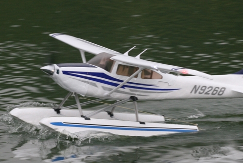 Jet Airlines Cessna 182 On Floats