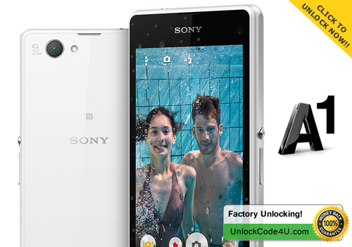 Factory Unlock Code for Sony Xperia Z1 Compact