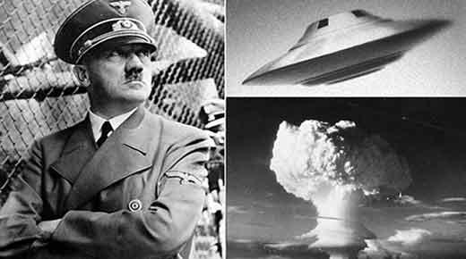 La bomba nuclear y el platillo volante desarrollado por los Nazis