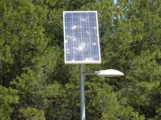 Farola solar de leds Zaragoza