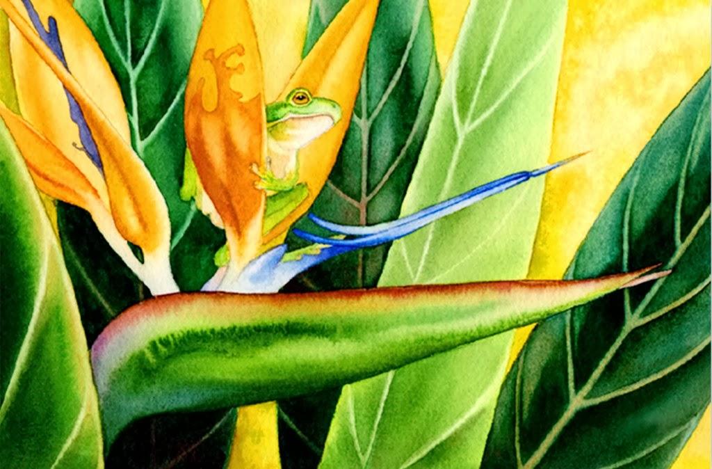 Cuadros pinturas oleos pinturas decorativas de plantas for Plantas decorativas