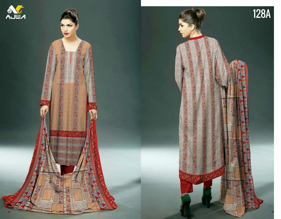 Ajwa summer dress collection 2015