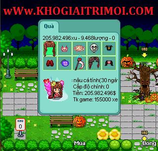 Sự Kiện Halloween trong game Avatar