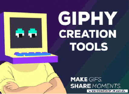 make own Gif image using giphy