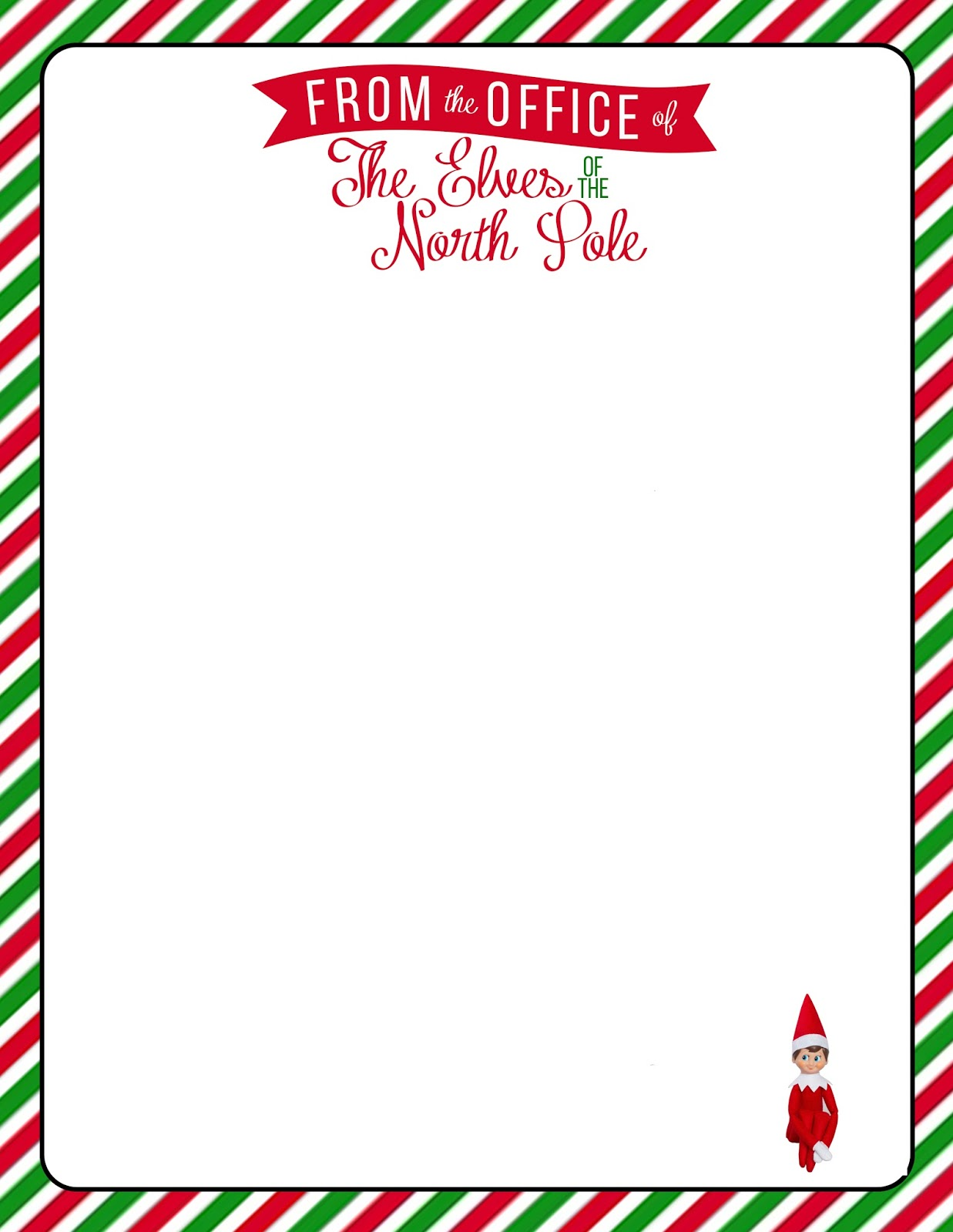 ... up Godbold: {Elf on The Shelf} Welcome Letter with Free Printable