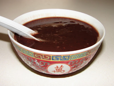 Sunflower Food Galore: Red bean soup with chan pei ...