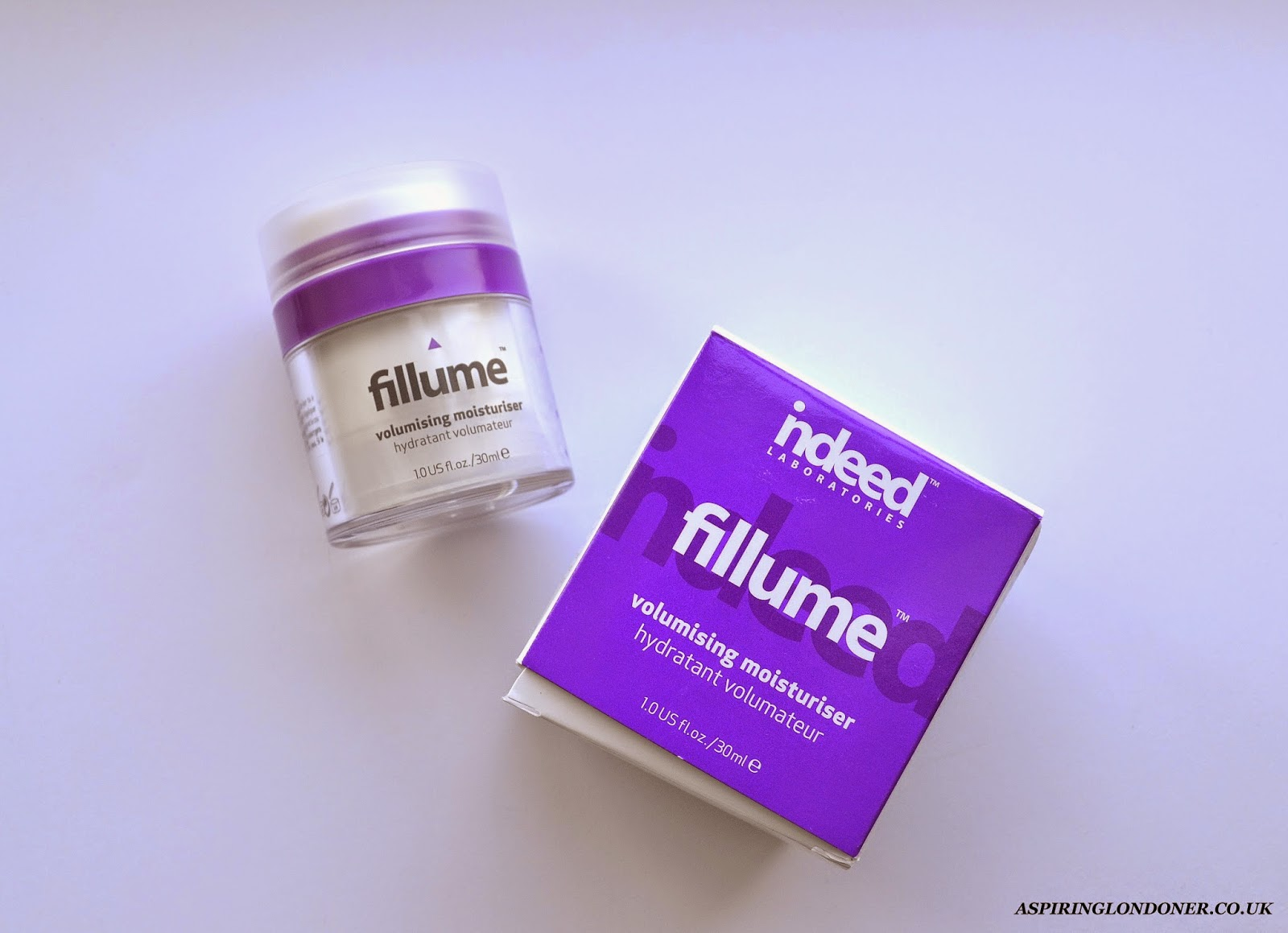 Indeed Labs Fillume Volumising Moisturiser Review - Aspiring  Londoner