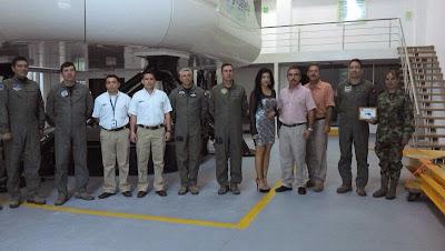 Simulador UH-60 Black Hawk fuerza aerea colombiana
