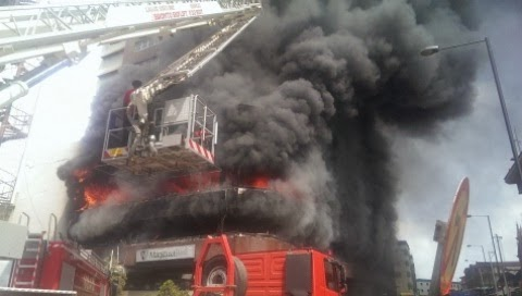 great nigeria house fire lagos