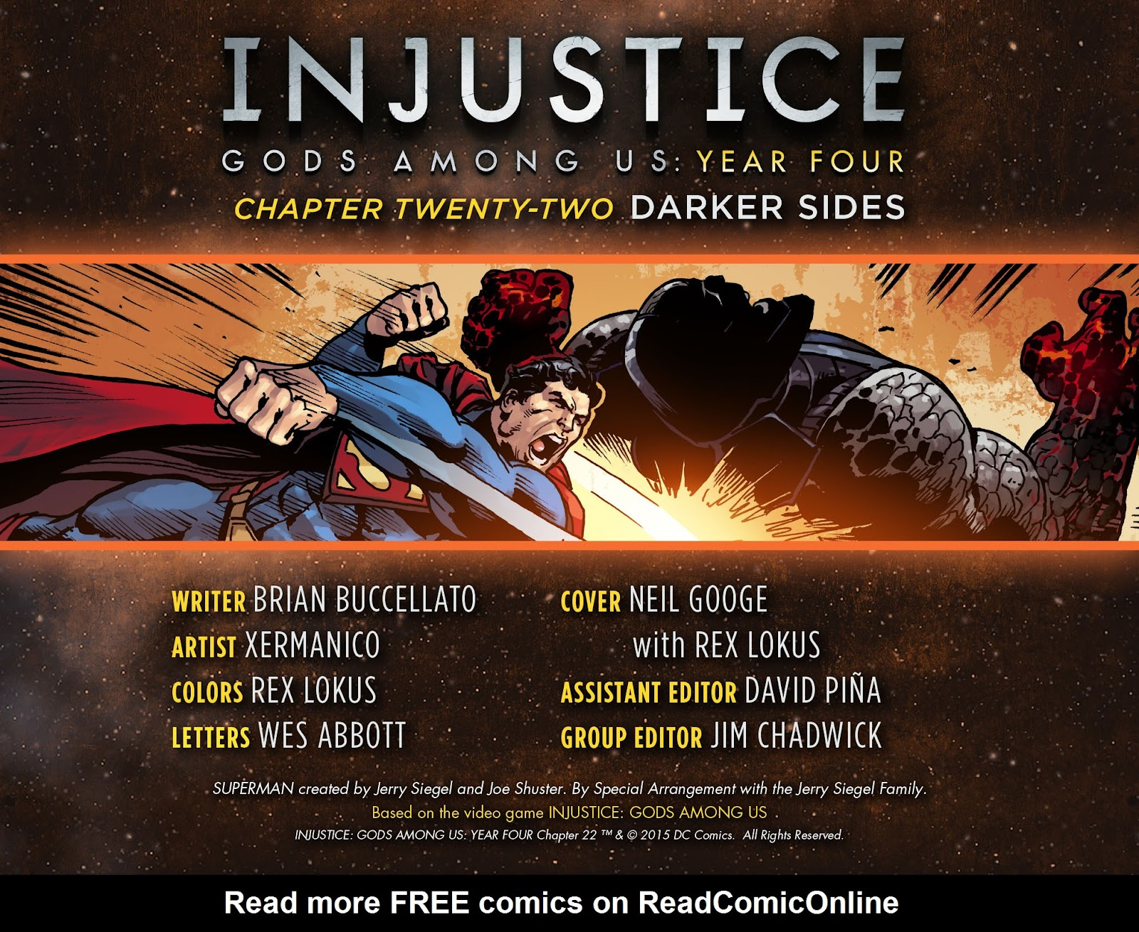 Injustice: Gods Among Us Year Four Issue #22 #23 - English 3