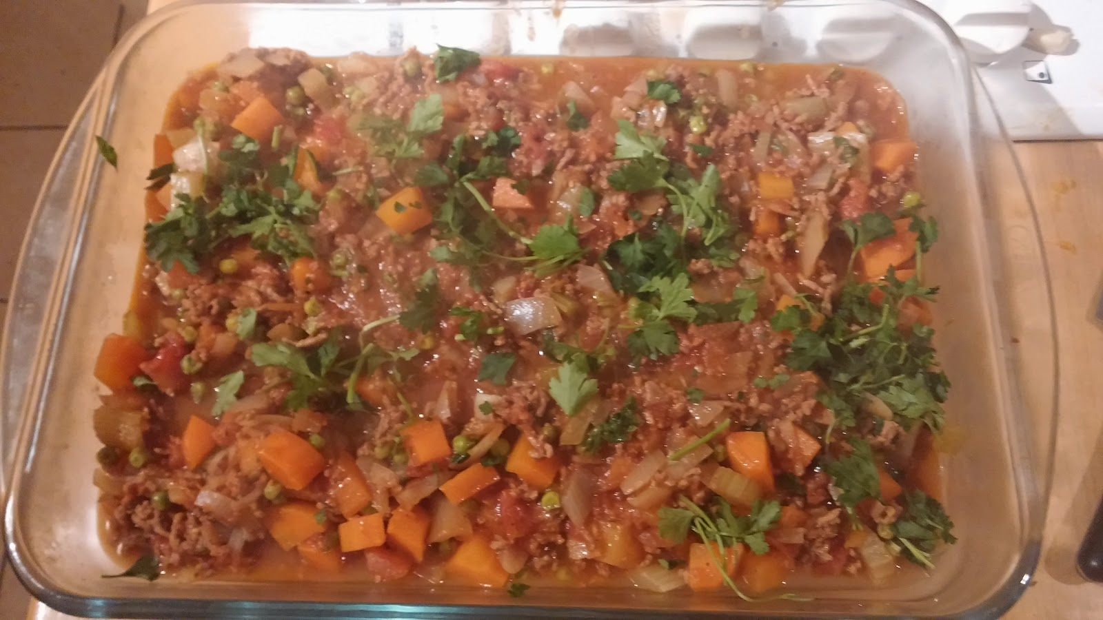 Butternut Squash Topped Cottage Pie Raw Rhubarb Fit