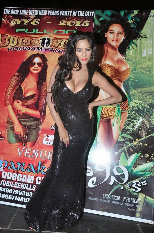 Poonam Pandey At Malini and co Movie Press Meet Photos