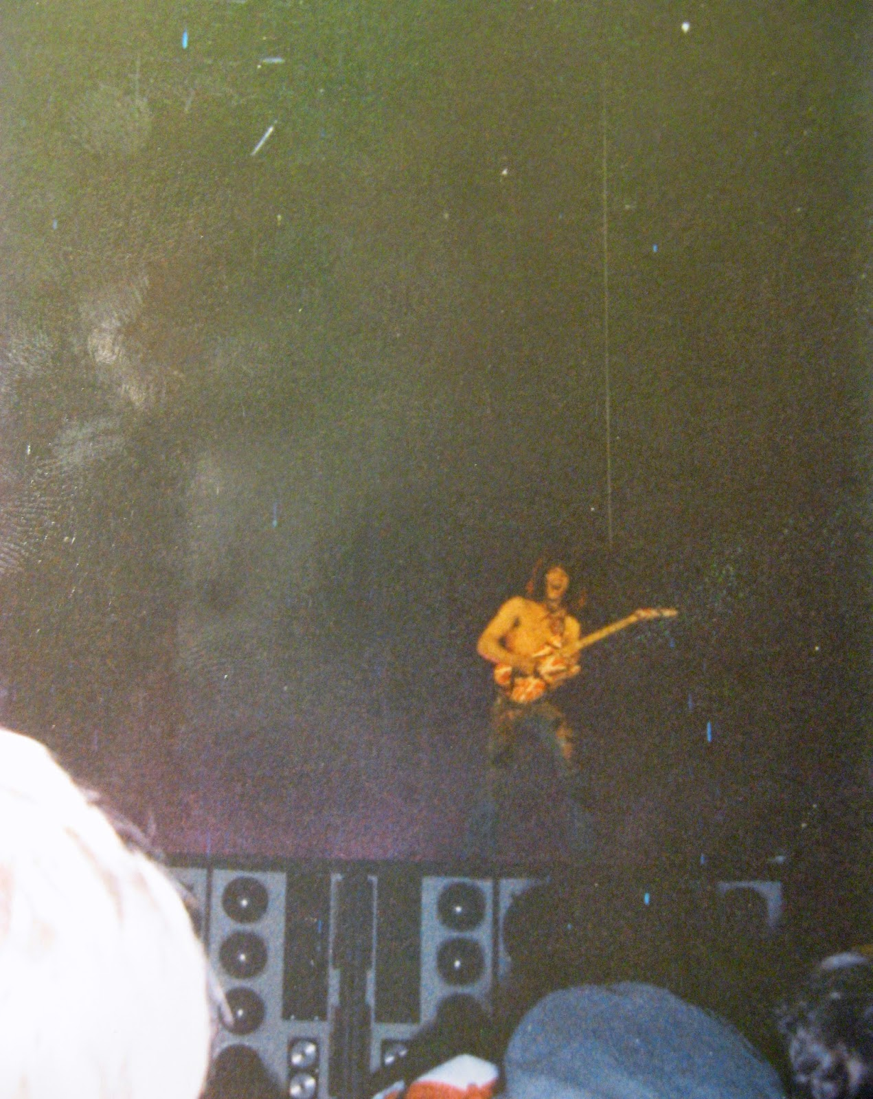 Eddie VanHalen melting our faces at Hampton Coliseum Feb 15, 1984