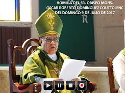 VIDEO DE LA HOMILÍA DEL SR. OBISPO, DEL DÍA 9 DE JULIO DE 2017