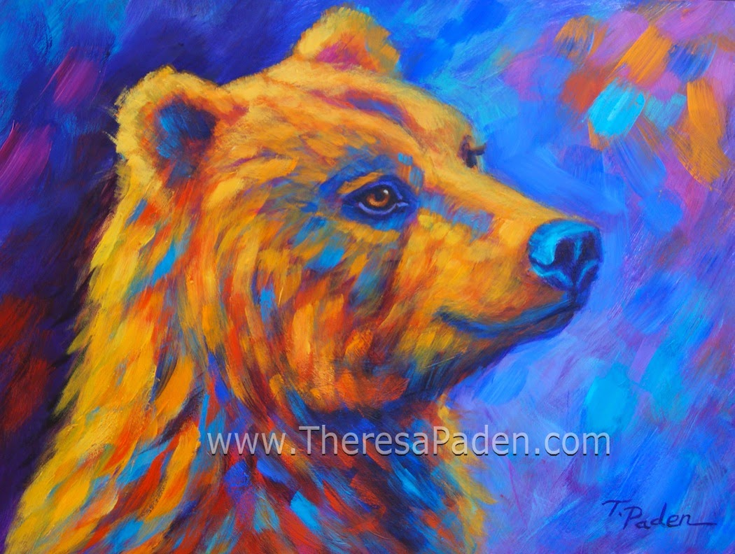 Colorful Wild Animal Paintings Images