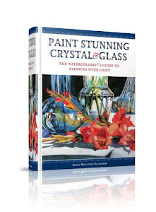 HARD COVER BOOK  PAINT STUNNING CRYSTAL & GLASS