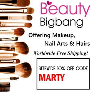 BeautyBigBang 10% off code MARTY/ Kod rabatowy BeautyBigBang