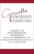 Ny logga eller hemsida? Jag samarbetar tillsammans med Gunilla gällande foto.