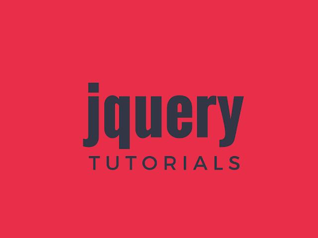jquery tutorials PDF ebooks