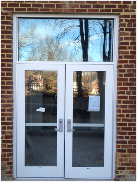 The siena school 39 s new building update new windows and doors for New windows doors