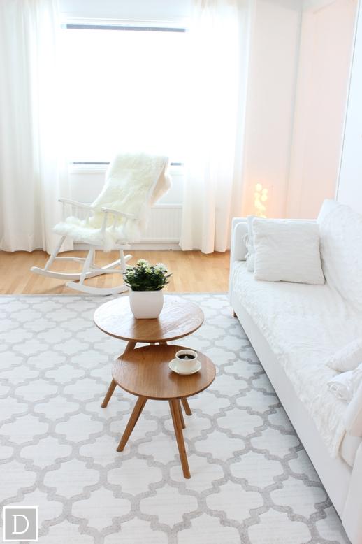 Olohuoneen Sohva : Olohuoneen uusi matto  Dekottaa