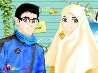 Gambar Kartun Muslimah Cantik ~ RENUNGAN & KISAH INSPIRATIF