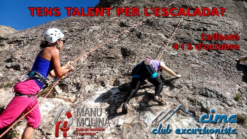 Bateig d'escalada, tast d'escalada