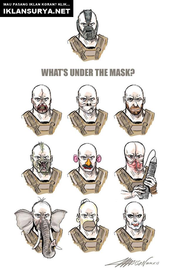 Mengapa Bane Menggunakan Masker