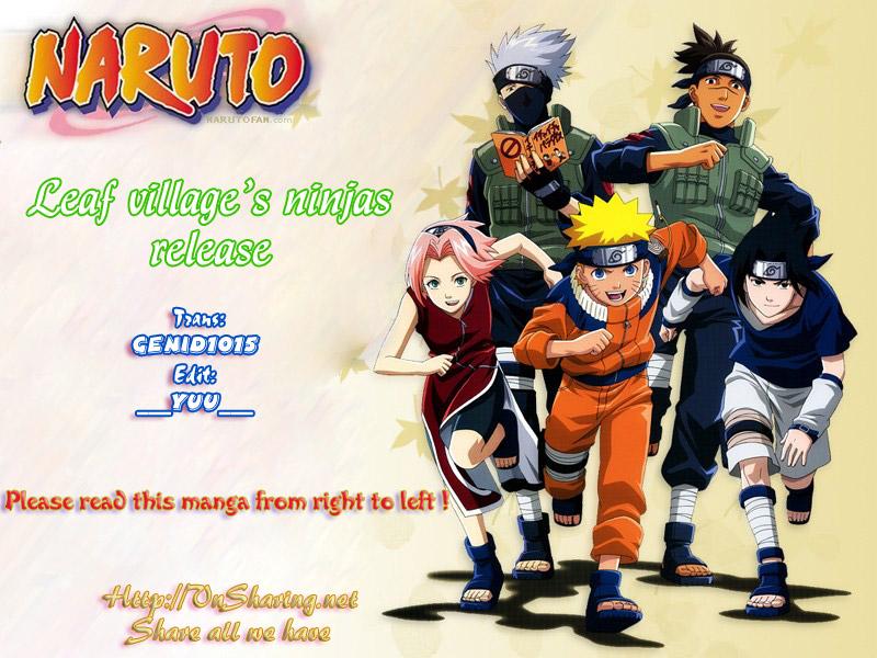 Naruto chap 438 Trang 1 - Mangak.info