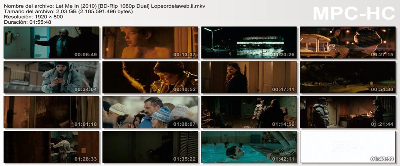 Let Me In / Dejame entrar (2010) [1080p. Dual]