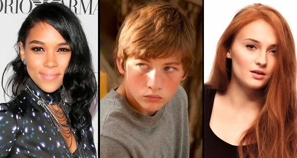 Actores Tormenta, Ciclope y Jean Grey para X-Men: Apocalipsis