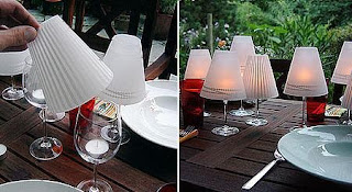 Portavelas con Copas, Ideas Faciles para Decorar