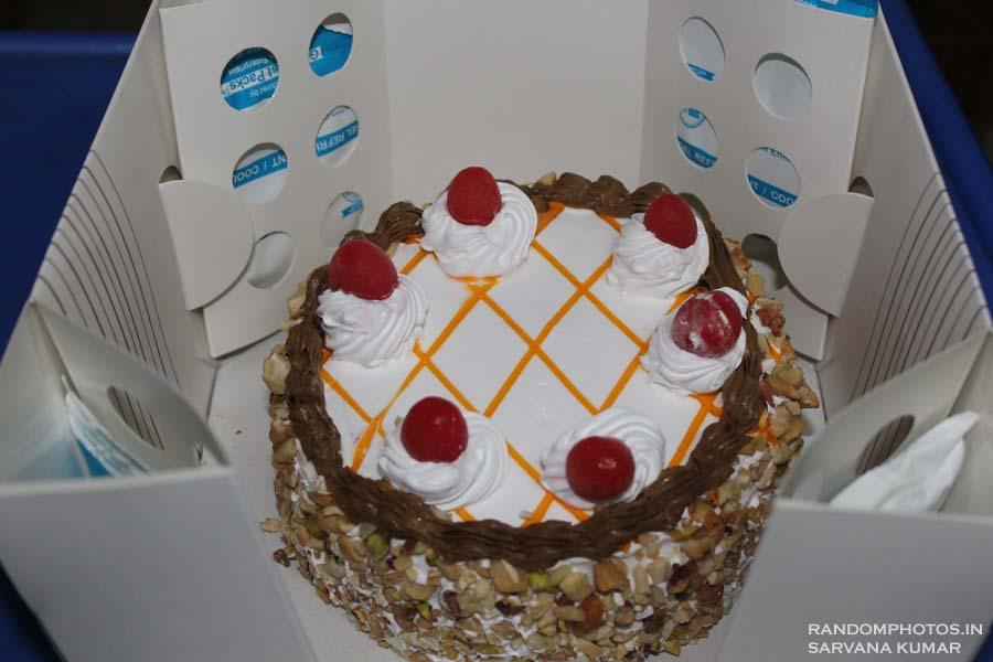Ice cream cake ice packs