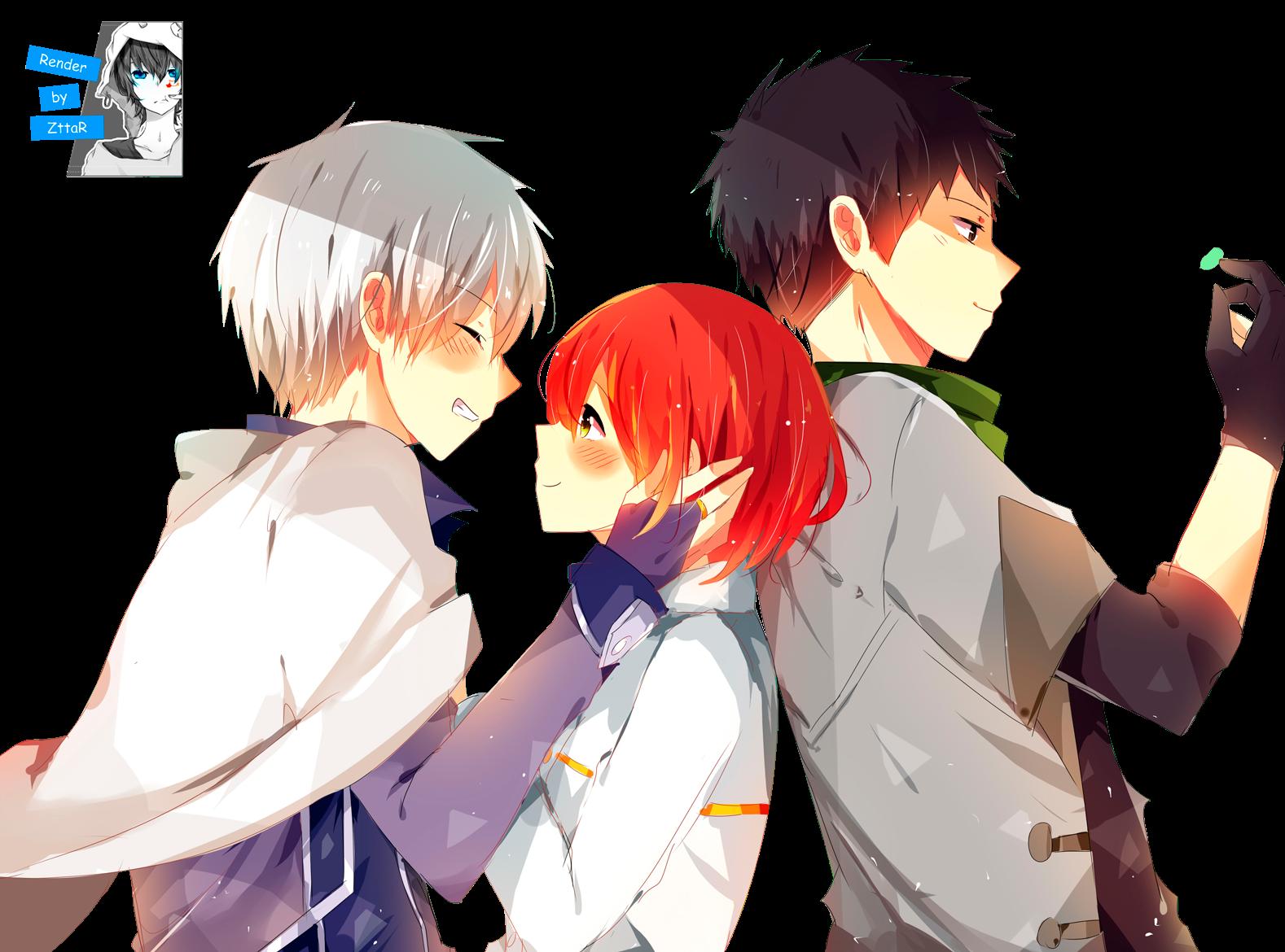 Render Shirayuki, Zen and Obi