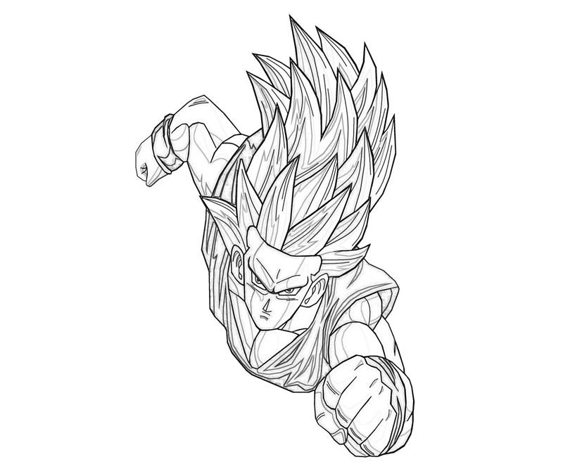 another gohan coloring pages - Super Saiyan Gohan Coloring Pages